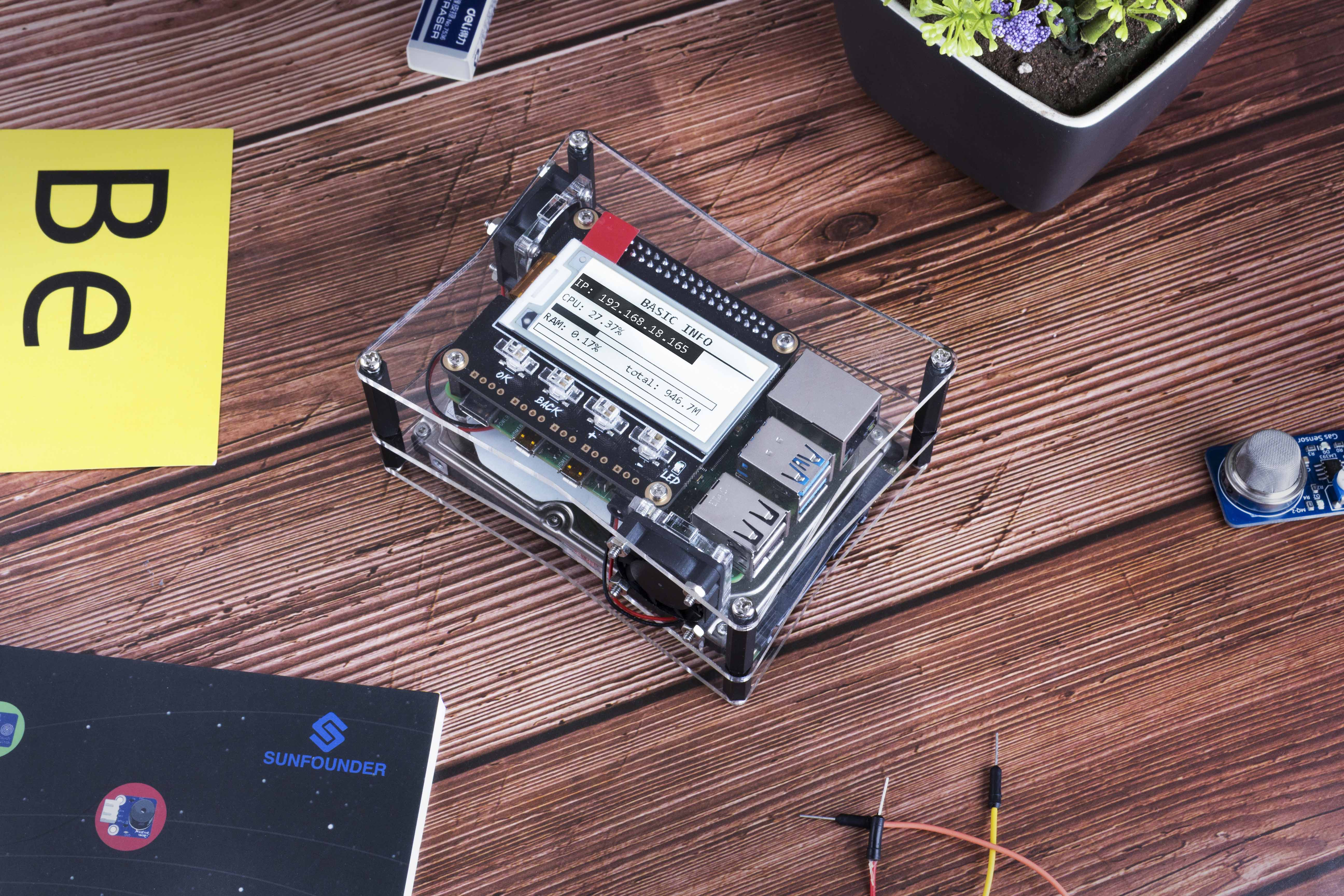 sunfounder_raspberry_pi_nas_kit